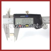 неодимовый магнит квадрат 10х10х6мм, фото 2