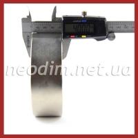 Магнит диск D 120-40 мм и штангенциркуль, фото 2