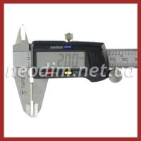 неодимовый магнит прямоугольник 15x10x2 мм, фото 4