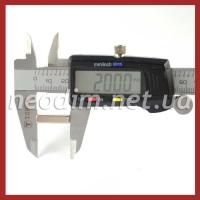 неодимовый магнит прямоугольник 20x10x5 мм, фото 2