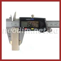 неодимовый магнит прямоугольник 50x25x15 мм, фото 4