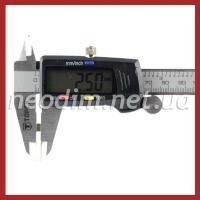 неодимовый магнит прямоугольник 5х2 мм, фото 3