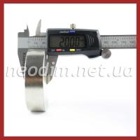 Магниты диски D 70-20 мм, фото 3
