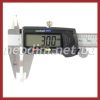 неодимовый магнит квадрат 7х7х3мм, фото 4