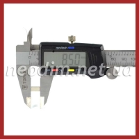 неодимовый магнит прямоугольник 8,5x3,4x4,5 мм, фото 2