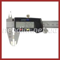 неодимовый магнит прямоугольник 8,5x3,4x4,5 мм, фото 3