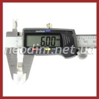 неодимовый магнит квадрат 8х8х6мм, фото 4