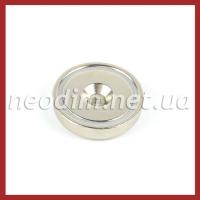Магнит в метал. корпусе под потай A48, фото 1